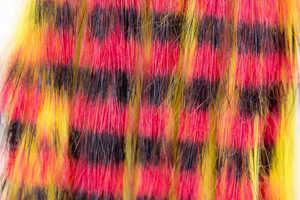 Bild på Kaninzonker Tiger Black Barred (3mm) Yellow/Red