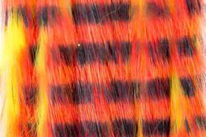 Bild på Kaninzonker Tiger Black Barred (3mm) Yellow/Orange