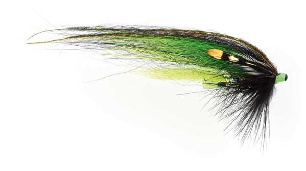 Bild på Frödin Classic Series (Tubflugor) 10cm Black Green Helmet
