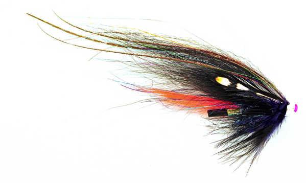 Bild på Frödin Classic Series (Tubflugor) 6cm Black & Silver