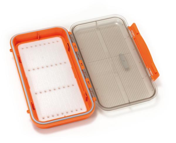 Bild på C&F Tarpon Large WP Saltwater Fly Case w Slit Foam (CFGS-3500) Orange
