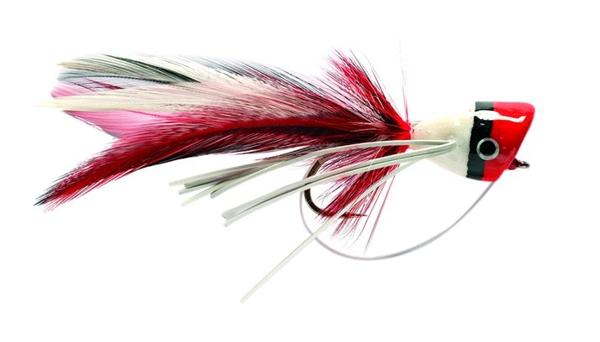 Bild på Bass Popper Red & White Stl.6