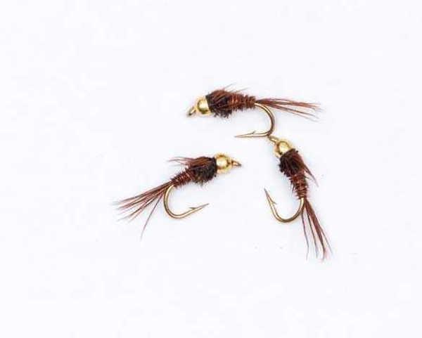 Bild på Pheasant Tail m guldskalle #12