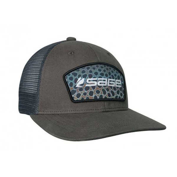Bild på Sage Patch Trucker Trout Green