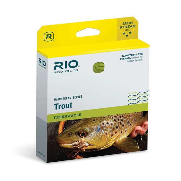 Bild på RIO Mainstream Trout Flyt/Sjunk3 WF7