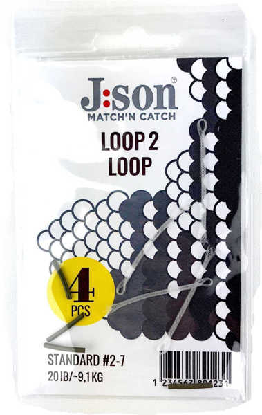Bild på Json Loop 2 Loop Large #5-9 (4 pack)