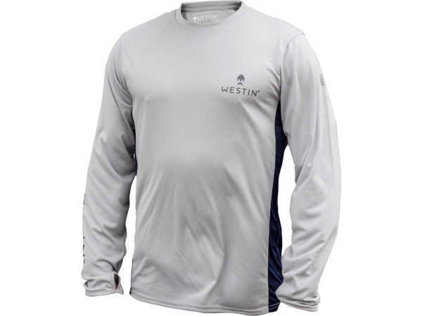 Bild på Westin Pro UPF Long Sleeve Grey/Navy Blue