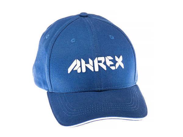 Bild på Ahrex Bold Script Cap White On Blue