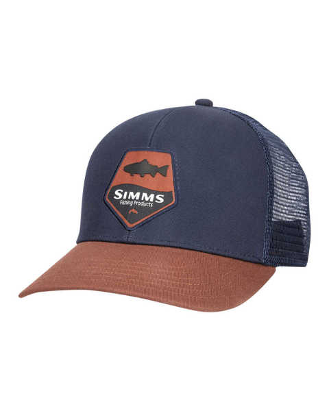 Bild på Simms Trout Patch Trucker Rusty Red
