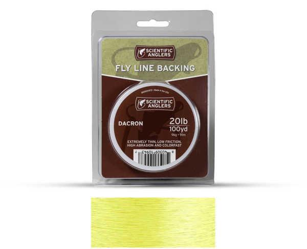 Bild på Scientific Anglers Dacron Backing Yellow
