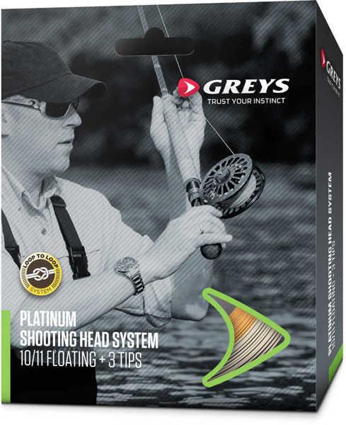 Bild på Greys Platinum Shooting Head System Floating