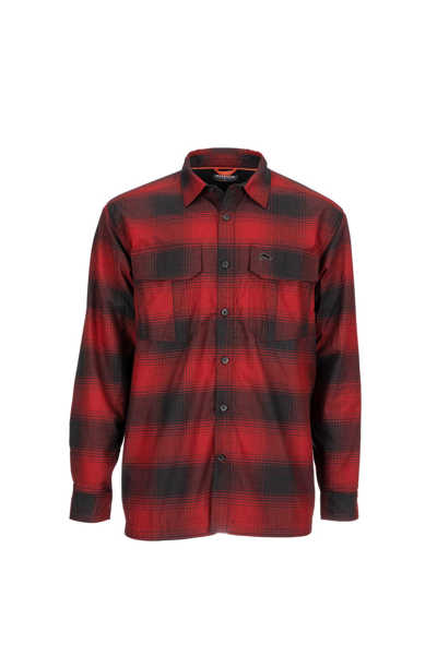 Bild på Simms ColdWeather Shirt (Auburn Red Buffalo Blur Plaid)
