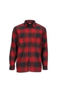 Bild på Simms ColdWeather Shirt (Auburn Red Buffalo Blur Plaid) XXL