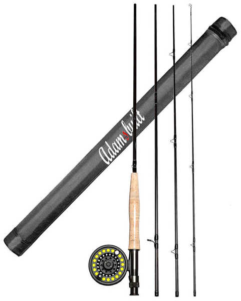 Bild på Adamsbuilt Learn to Fly Fish Combo 8ft #4