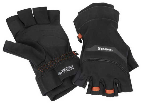Bild på Simms GORE-TEX Infinium Half Finger Glove Black