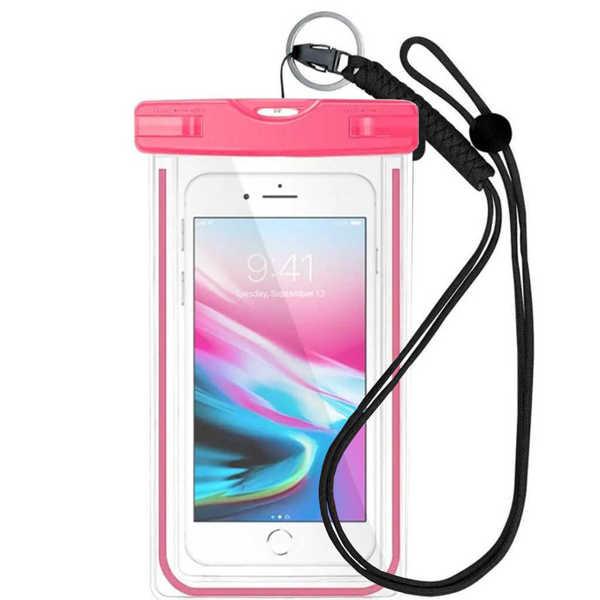 Bild på Vattentät Pouch för Smartphone Rosa