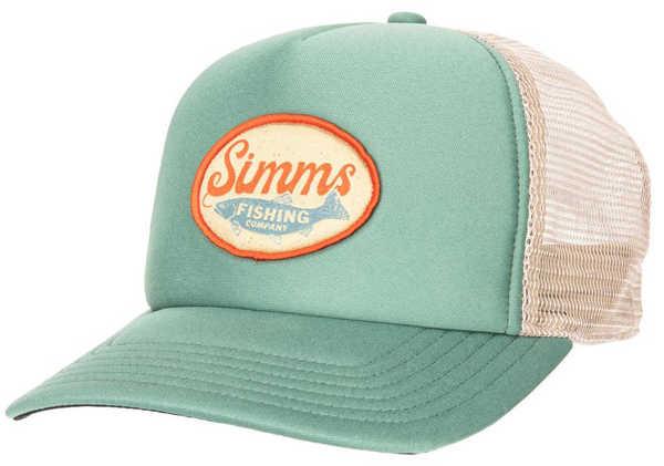 Bild på Simms Small Fit Throwback Trucker Trout Wander