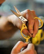 Bild på Loon Ergo Prime Scissor Yellow 13cm