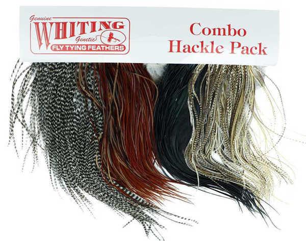 Bild på Whiting Introductory Hackle Pack Saddle Dry Fly