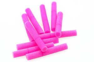 Bild på Foam Cylinder 2,8mm (8 pack) Pink