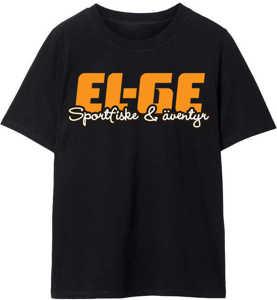 Bild på EL-GE T-Shirt Oversize Svart Medium