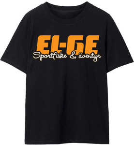 Bild på EL-GE T-Shirt Oversize Svart XL